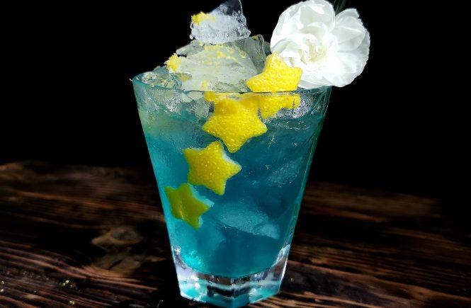 CBD Voda Cocktail with Kombucha
